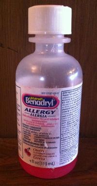 Liquid Benadryl