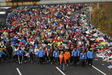 Think marathon...